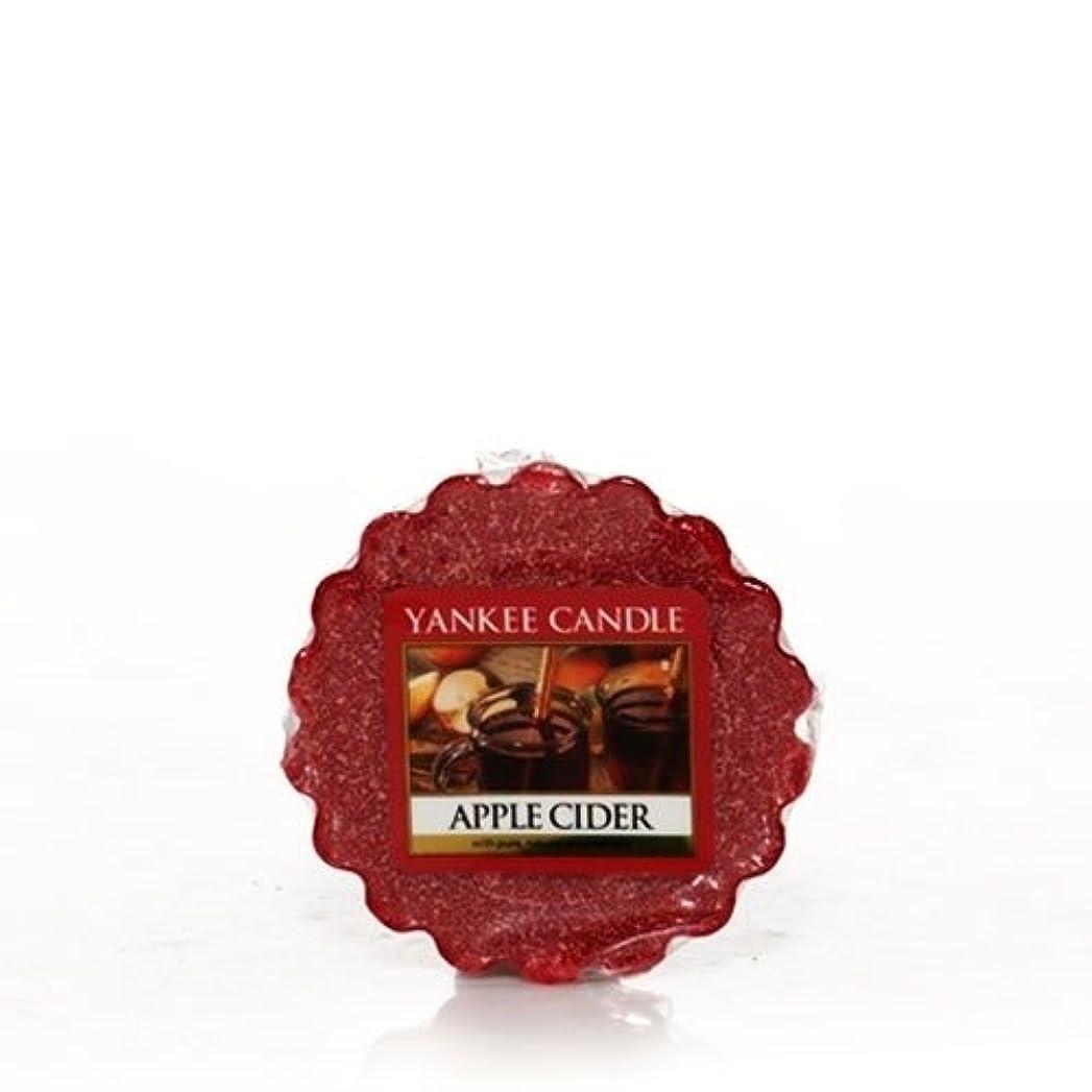 刃構造的錫Yankee Candle Apple Cider, Food & Spice香り Tarts wax melts 1187886-YC