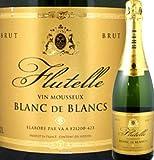 ラ・テット・ノワール・フリュッテル・ブラン・ド・ブラン フランス 白スパークリングワイン 750ml フルボディ 辛口