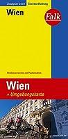 Falk Stadtplan Extra Standardfaltung Wien 1:21 500: Strassenverzeichnis mit Postleitzahlen. Standardfaltung