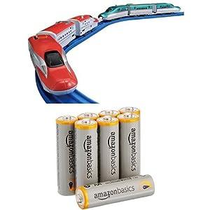 プラレール E5系新幹線&E6系新幹線連結セット 単三電池付き