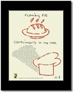 PAUL MCCARTNEY - Flaming Pie Mini Poster - 28.5x21cm