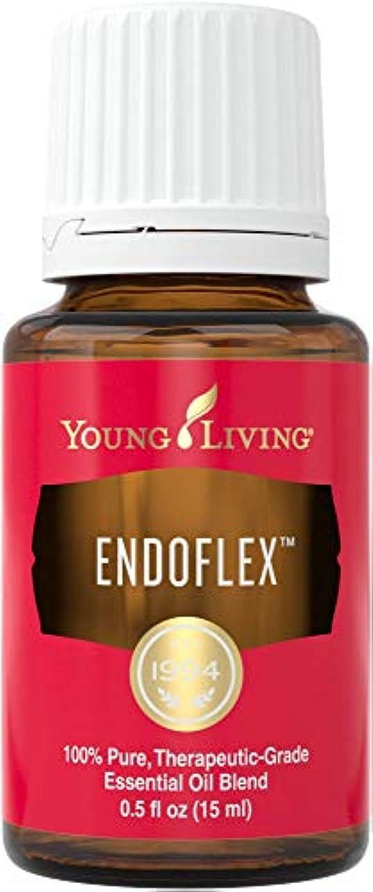 息を切らして中央値熟達したヤングリビング Young Living エンドフレックス エッセンシャルオイルブレンド 15ml