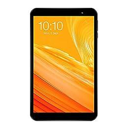 TECLAST P80X Android 9.0タブレット、8'' 4G LTE タブレットPC、 IMG GE8322 8コア1.6GHz、RAM2GB/ROM16GB、1280 x 800 IPSタッチスクリーン、デュアルカメラ 0.3MP/2MP+GPS+WiFiモデル+Bluetooth 4.1接続+GPS+TFカード拡張可能