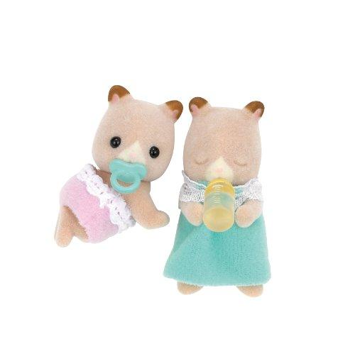 シルバニアファミリー 人形 ハムスターのふたごちゃん ム-06