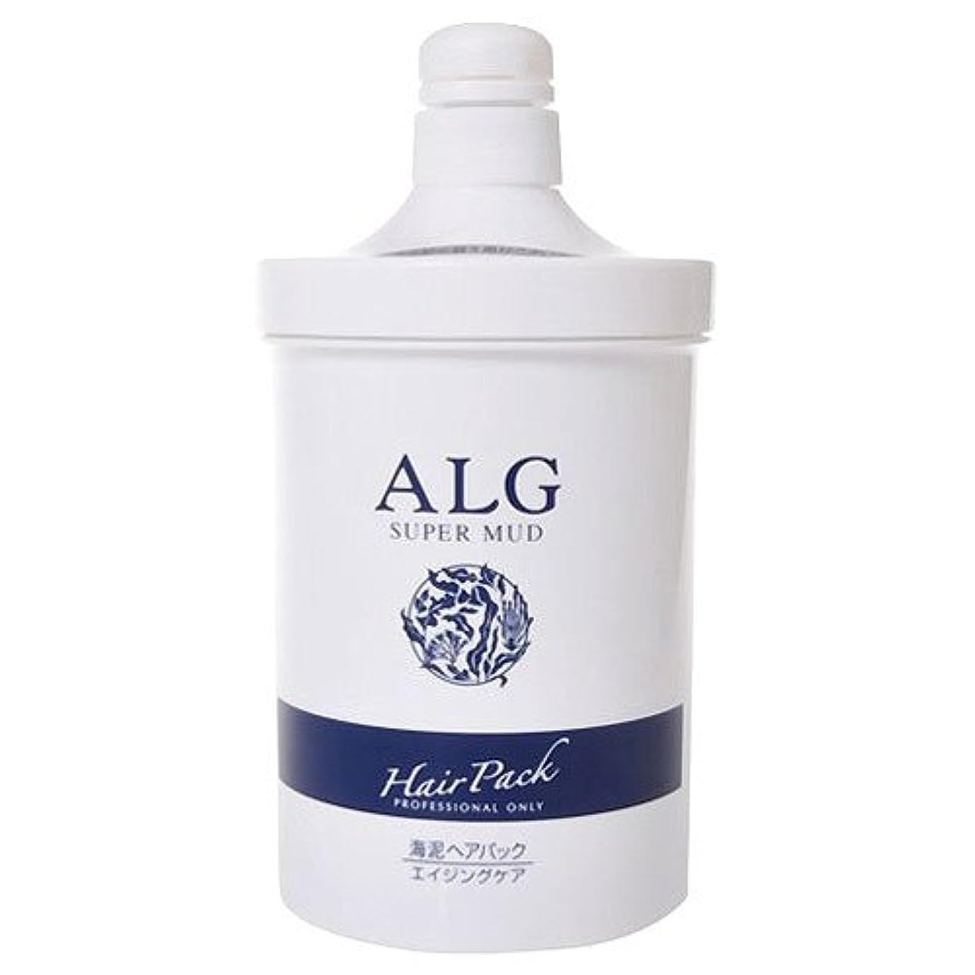 ピッチ十分適性アルグ スーパーマッドヘアパック M 1000g(ポンプ)