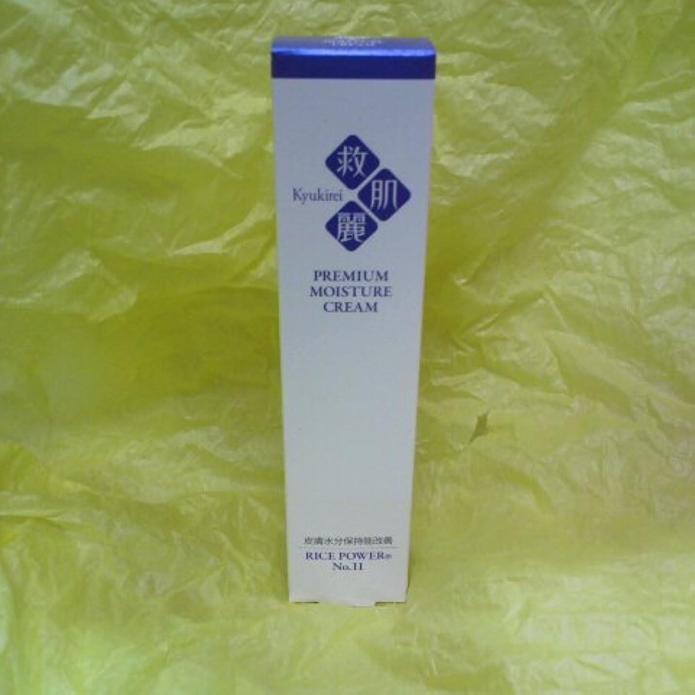 沿って粘性の怠けた救肌麗 薬用クリーム 40g (ライスパワー№11配合 無香料、無着色)医薬部外品