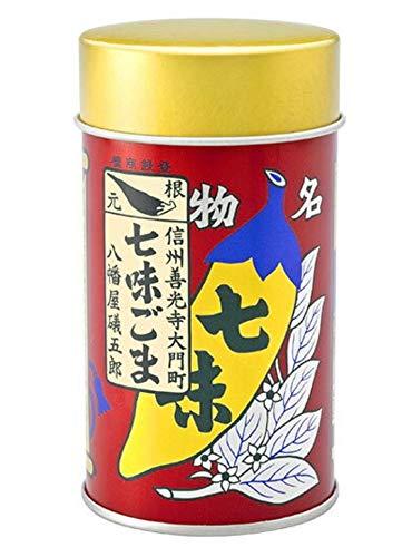 八幡屋礒五郎七味ごま60g缶