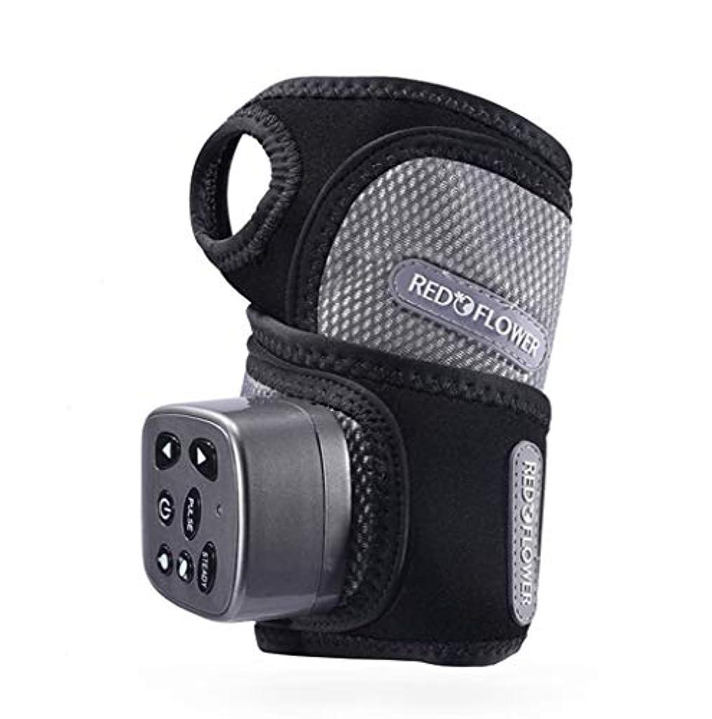 側溝スポーツマン精査する手首関節の痛みや疲労を和らげるためのハンドマッサージ器、混練、振動、熱処理、電気指リハビリテーション装置。