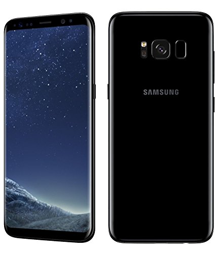Samsung サムスン Galaxy S8 SM-G950FD Dual SIM版 (SIMフリー ) 5.8 64GB Midnight Black/ブラック 並行輸入品