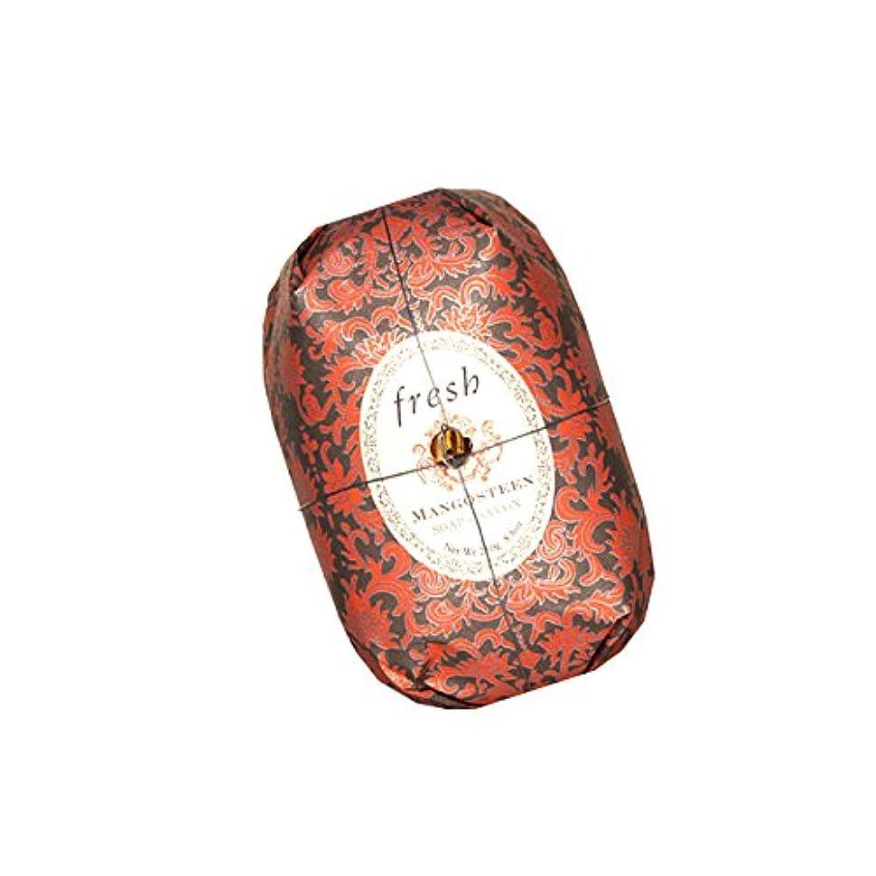 楕円形手がかりシーボードFresh フレッシュ Mangosteen Soap 石鹸, 250g/8.8oz. [海外直送品] [並行輸入品]