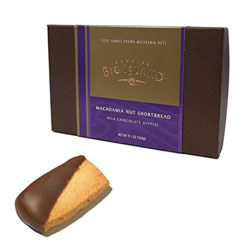(ビッグアイランドキャンディーズ) マカダミアナッツショートブレッド ミルクチョコレートディップ 269g
