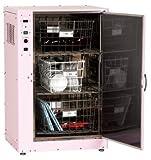 保育学校用品 食育熱風食器・器具消毒保管庫 クリアディッシュ1000 (30人前後)