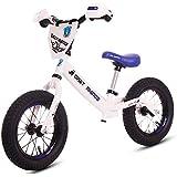 ペダルなし自転車 バランスバイク、子供用バランスカーペダルなし子供用スクーター二輪車1-3-6歳-保護具を送る (Color : C)