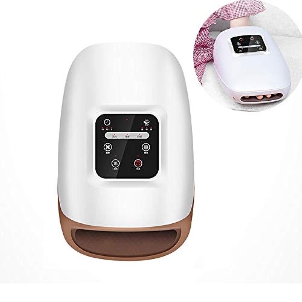 支払う筋テープ関節炎の痛みを和らげるための混練と熱療法、美容手、調節可能な圧力とタイマー、USB充電可能な電動ハンドマッサージ器