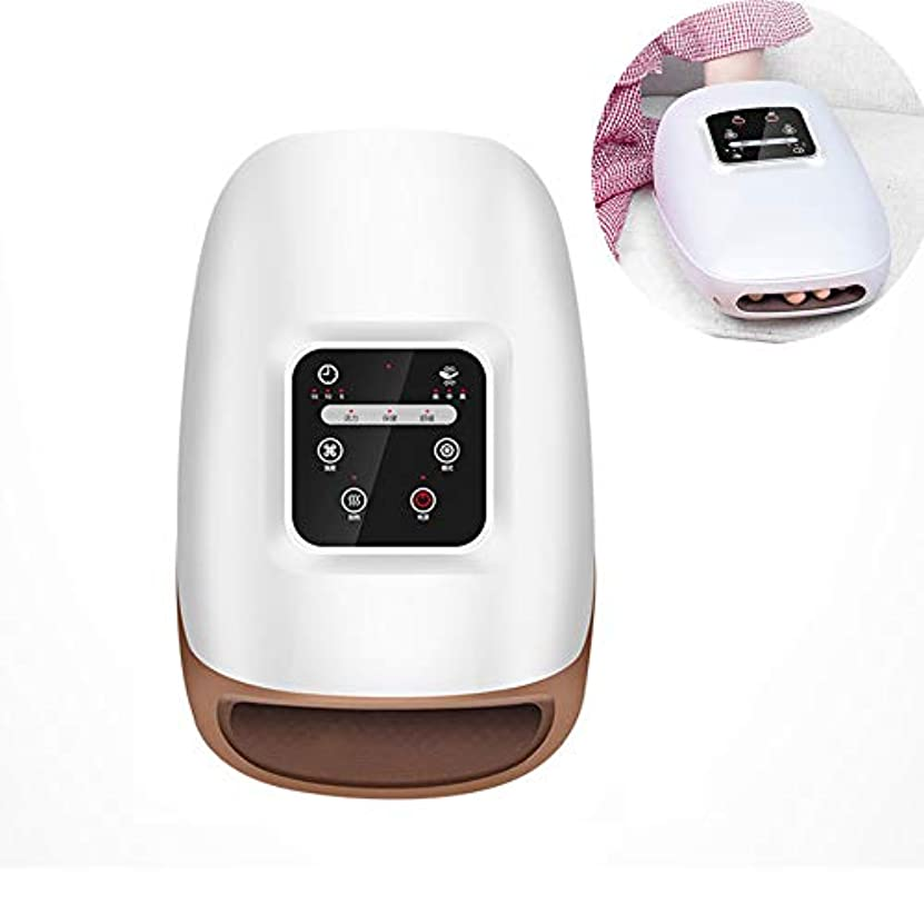 強化操るなしで関節炎の痛みを和らげるための混練と熱療法、美容手、調節可能な圧力とタイマー、USB充電可能な電動ハンドマッサージ器