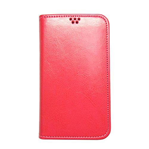 ROCOCO[samsung GALAXY S4 SC-04E SC04E ギャラクシー GALAXY4 対応 Flip Case] 手帳型ケース 全機種対応 全機種対応スマホケース 携帯ケース 機種対応 手帳型 ケース 手帳 カバー 人気 かわいい おすすめ 丈夫 収納 カード入れ フリップ 携帯 シンプル カラープール Color 人気デザイン かわいい icカード入れ HotPink