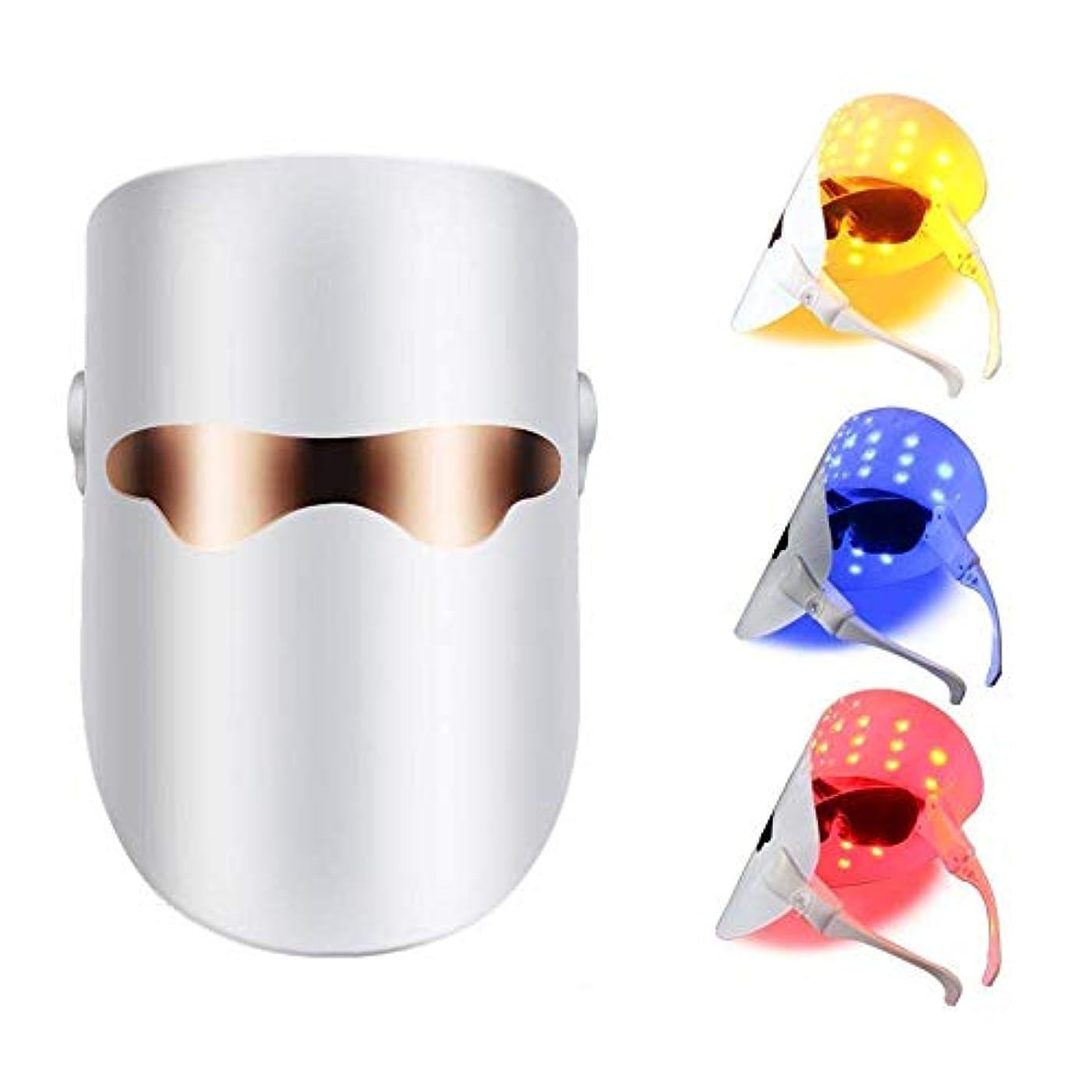 隙間生技術的なLEDマスクフェイスアンチアクネスキンリジュビネーションマスクフェイシャルホワイトニングファーミングスキンライトセラピー