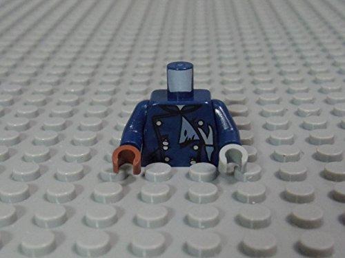 レゴ ミニフィグ 【トルソー】 1185_Dark Blue