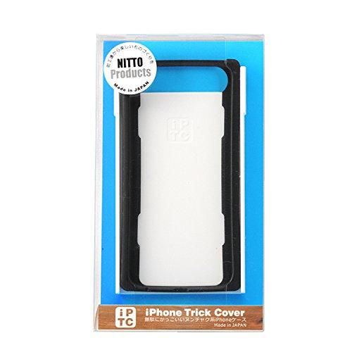 ニットー(NITTO) Trick Cover for iPhone7 / 6s / 6 スタンド機能 カードホルダー【黒白】 IPTC016PD