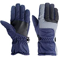 MolySun スキーグローブ 登山 手袋 アウトドア冬アウトドアソフト耐久性のある通気性防風&防水スノースキーグローブウォームマウンテンクライミンググローブ男性用
