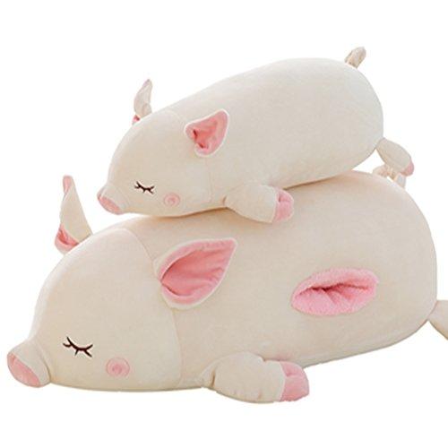 ぶた 抱き枕 かわいい 豚 ブタ ぬいぐるみ  プレミアムねむねむアニマルズ 抱きまくら プレゼント 誕生日 敬老祝い 入学祝い 卒業祝い バレンタインデー ホワイトデー 贈り物 ピンク ホワイト  45cmホワイト
