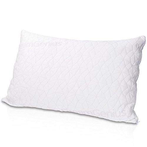 枕 DreamGenius 安眠 人気 まくら 人気 肩こり対策 低反発 頸椎サポート 高級ホテル仕様【中身を調整可能/防湿通気抗菌】