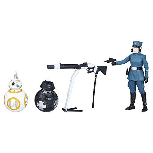 スター・ウォーズ ベーシックフィギュア 3パック BB-8/BB-9E/ローズ (ファースト・オーダーver.)