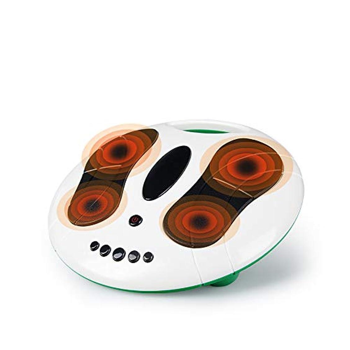 攻撃講堂楽しませるフットマッサージャーツボホーム刺激マッサージャーフットマッサージャー鍼暖房理学療法機械