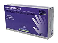 Adenna Precision 4 mil Nitrile Powder Free Exam Gloves (Violet, X-Large)