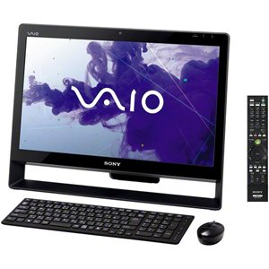 ソニー(VAIO) VAIO Jシリーズ J248 W7H 64/Ci5/21.5 Full HD/4G/BD/2T/W-LAN/Office/TV/ブラック VPCJ248FJ/B