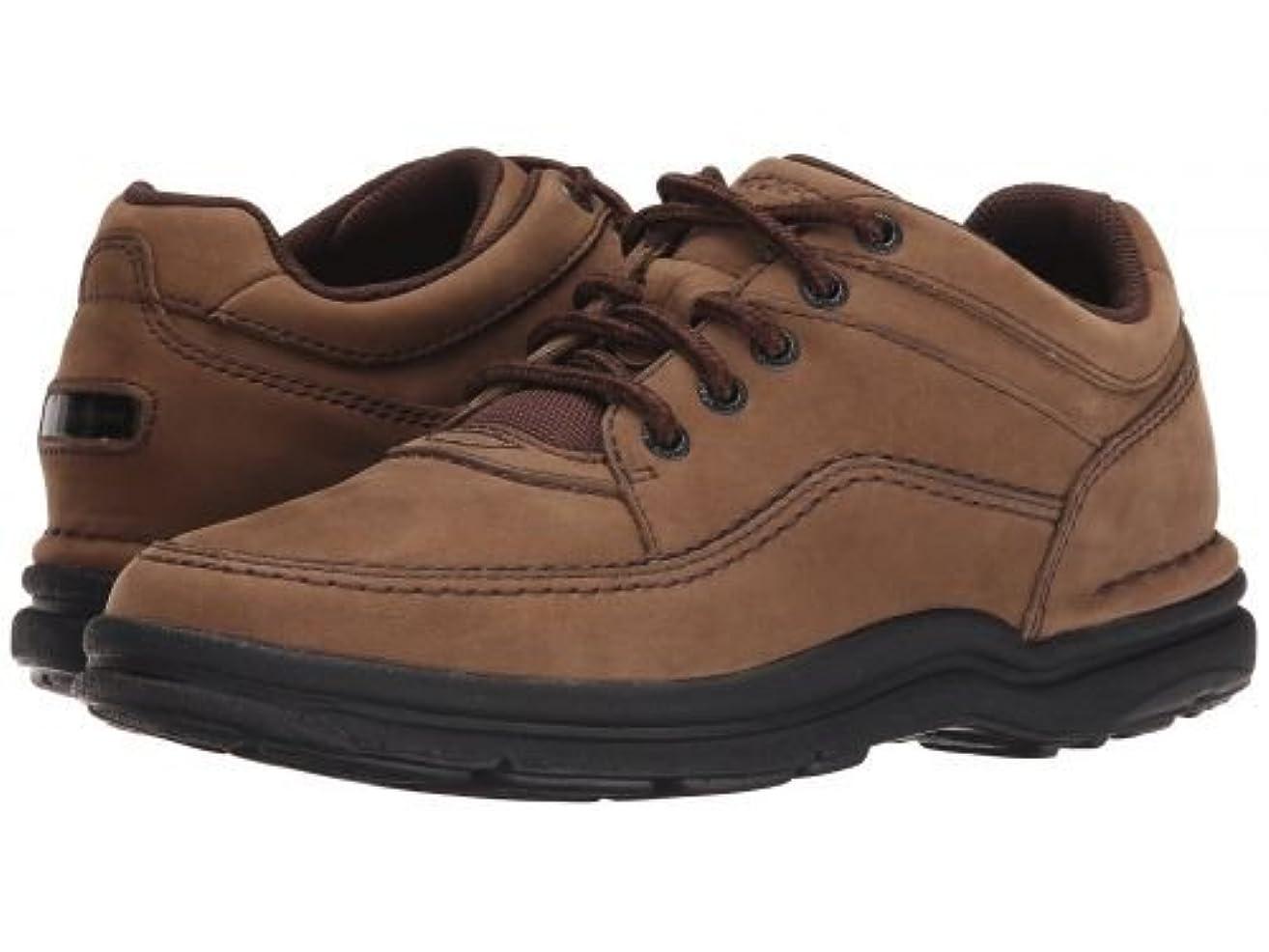 狂うサーバアラビア語Rockport(ロックポート) メンズ 男性用 シューズ 靴 オックスフォード 紳士靴 通勤靴 World Tour Classic - Chocolate Nubuck 6.5 W (EE) [並行輸入品]