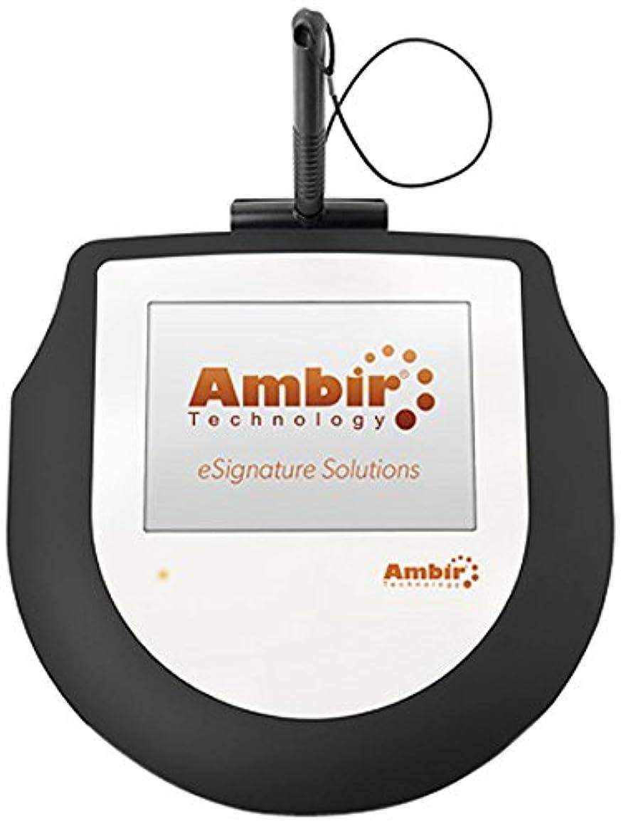 適度に同性愛者倉庫Ambir ImageSign Pro 200 - Signature terminal w/ LCD display - wired - USB