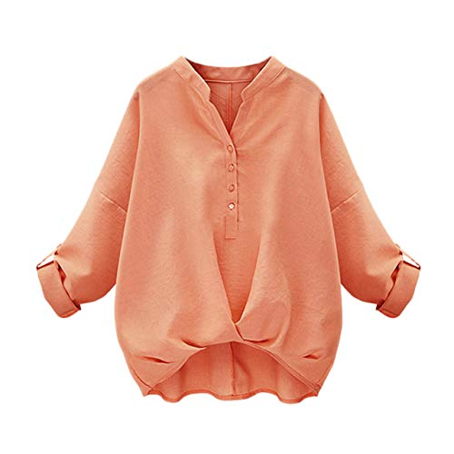 [アナトレ] レディース スキッパーシャツ 袖ボタン付き 長袖 7分袖 調整可 カシュクール ブラウス S~5XL