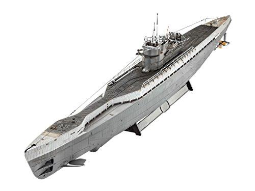 Germany Level 1 72 German U-Boat Type IX C 40 05133 Revell from Japan New F S