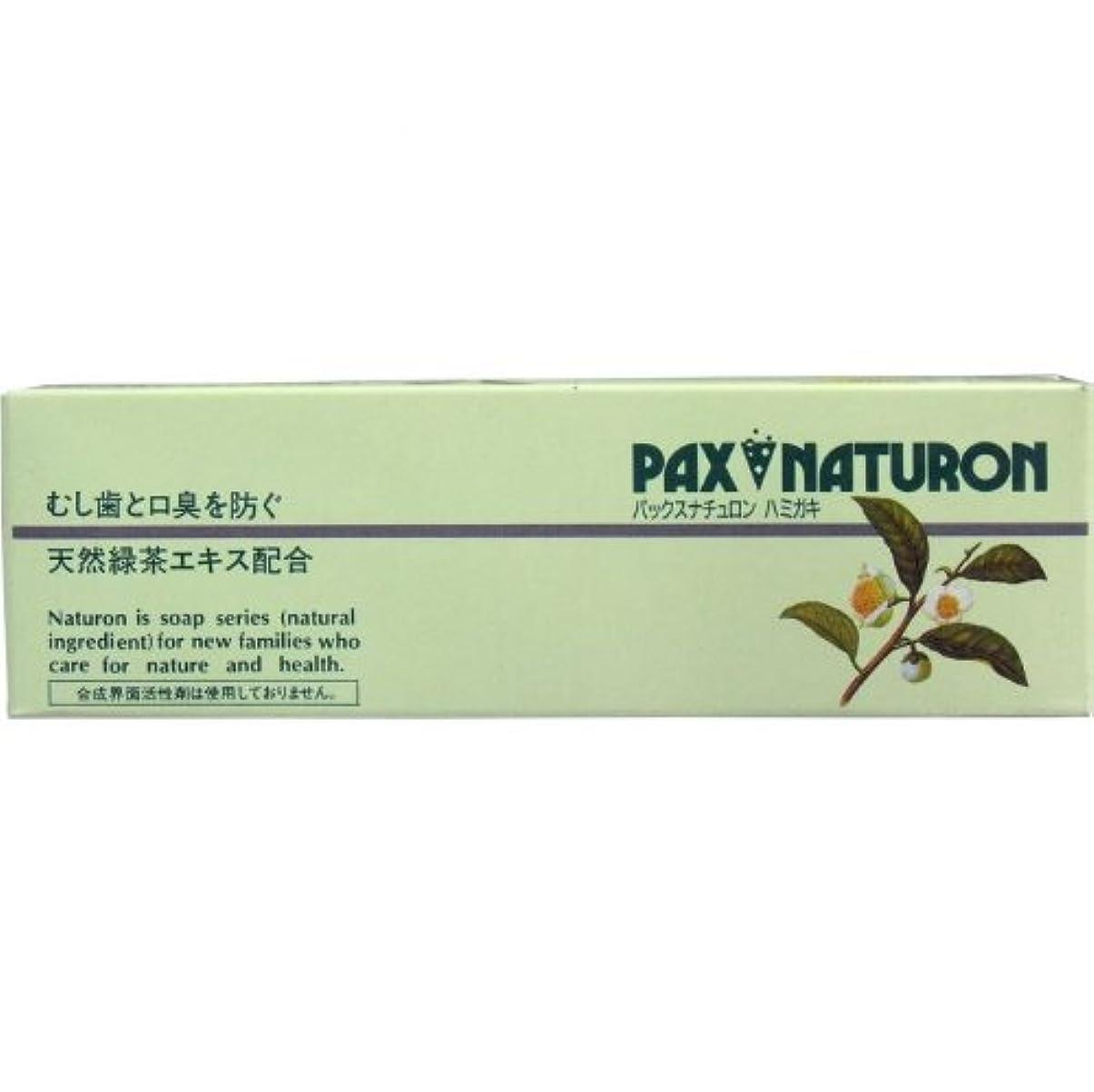 細菌自動的に累計パックスナチュロン ハミガキ 120g