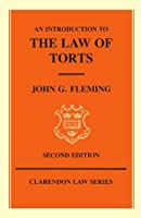 An Introduction to the Law of Torts (Clarendon Law) (Clarendon Law Series)