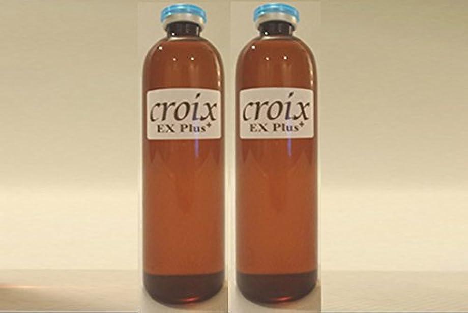 不変どこか消費者CroixスカルプエッセンスEXプラス 120ml × 2本セット:キャピキシル リデンシル EGF FGF IGF 配合!合成香料 パラベン 着色料 無添加 サロン 専売スカルプエッセンス