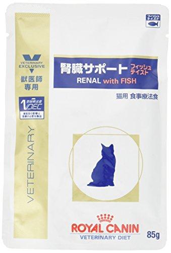 ロイヤルカナン 療法食 猫 腎臓サポートフィッシュテイストパウチ 85g×24個