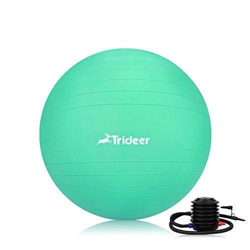 Trideer バランスボール45/55/65/75cm(八色) 厚い ヨガボール ピ