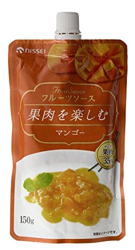 日世 果肉を楽しむフルーツソースマンゴ150g×12個