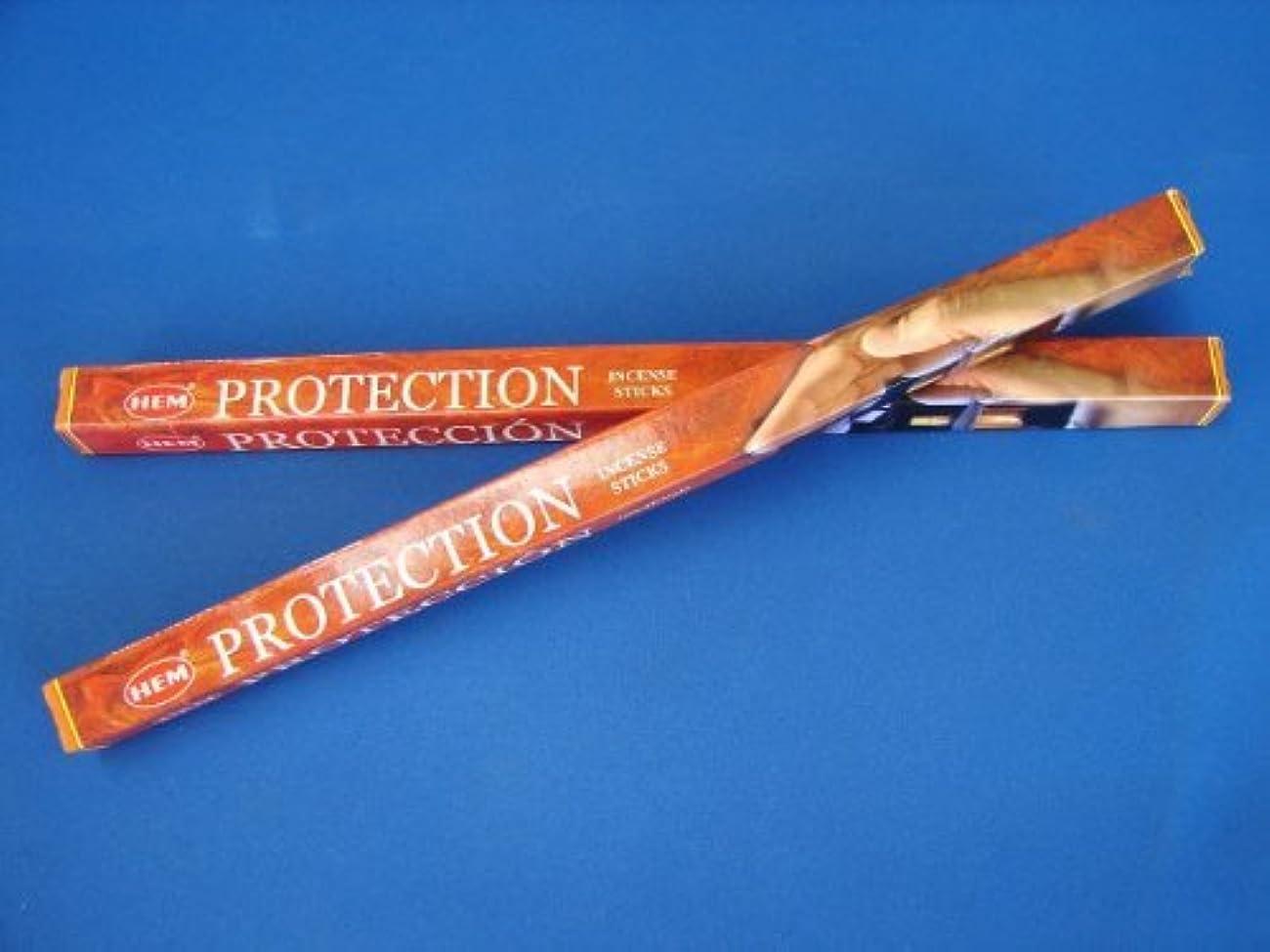 七面鳥慢な奪う4 Boxes of HEM Incense Sticks - Protection