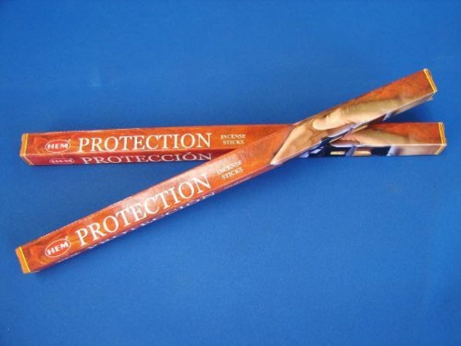二十増強息苦しい4 Boxes of HEM Incense Sticks - Protection