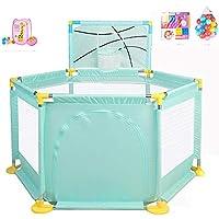 ベビープレイペン オックスフォード布フェンス/遊び場屋内大容量ベビーフェンス子供の屋内おもちゃの家 (色 : Style2)