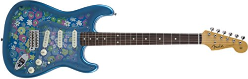 Fender エレキギター MIJ Traditional '60s Stratocaster® Rosewood Blue Flower