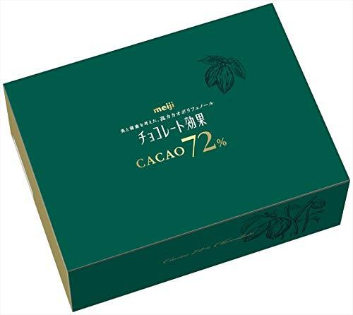 チョコレート効果 カカオ72% 大容量ボックス