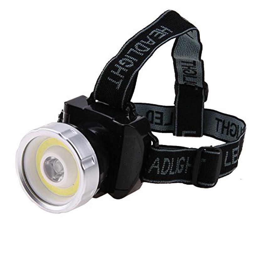 胴体事雇うSIKIWIND ヘッドライト プラスチックポータブルLEDヘッドライト 懐中電灯屋外照明
