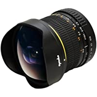 Opteka アプテカ 6.5mm f/3.5 HD 取り外しフード付き非球面魚眼レンズ for Canon デジタル一眼レフカメラ [並行輸入品]