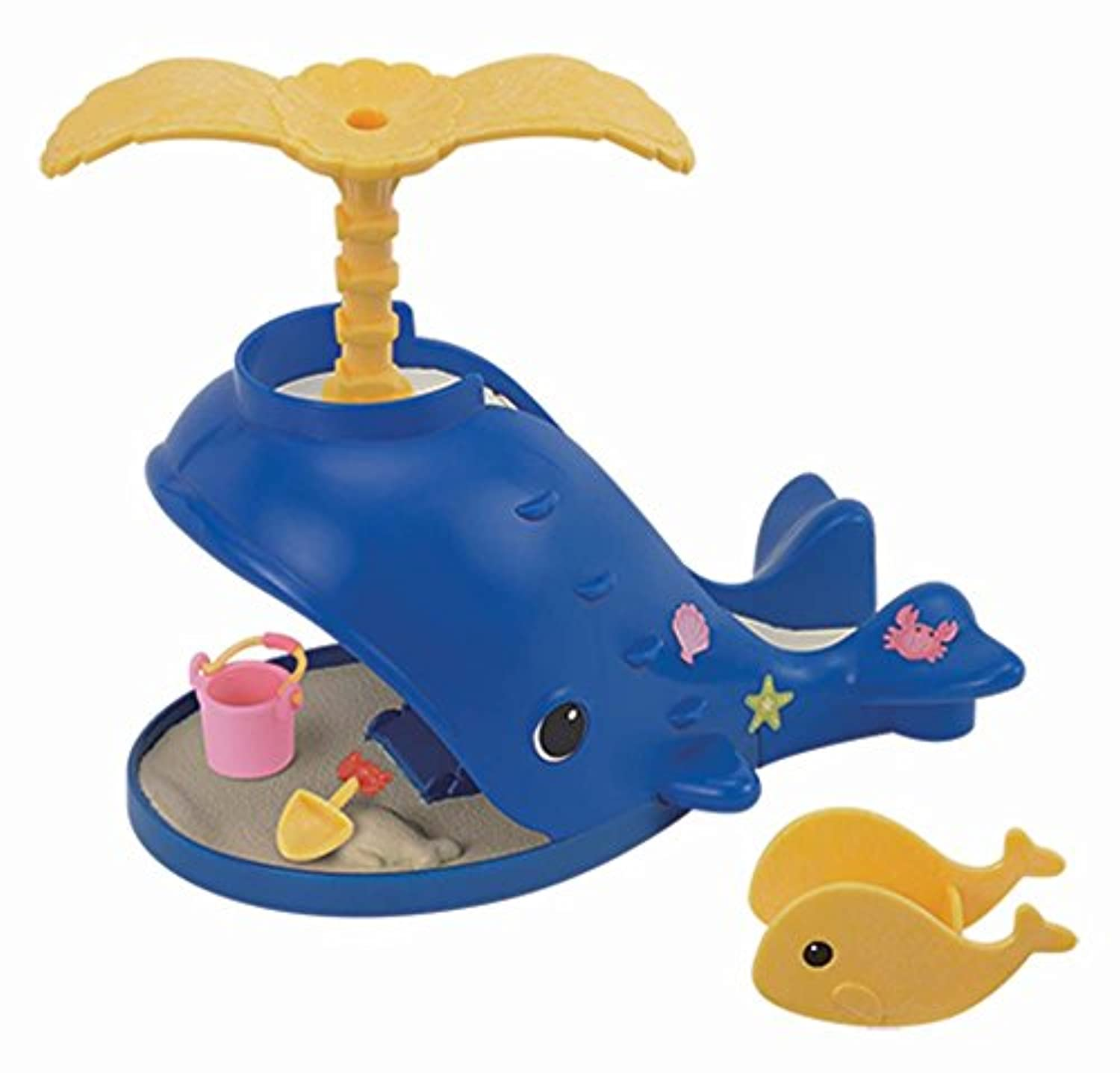 [Calicoクリッター]Calico Critters Splash and Play Whale Playset CC1408 [並行輸入品]