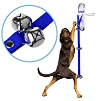 Gaoominy 犬小屋の訓練とハウスブレイキング用犬のドアベル、子犬のトイレトレーニング用