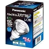 パナソニック 電球形蛍光灯 パルックボールスパイラル レフ形 電球100W形相当 口金直径27mm クール色 EFR25ED22SPF